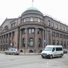 Monumentalu: Lietuvos banko rūmuose visada šeimininkavo bankininkai.