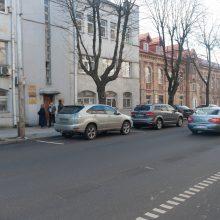 Chaotiškas eismas Kęstučio gatvėje erzina vairuotojus