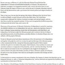 Įsiutino: JAV prezidento R.Reigano 1988 m. vasario 11 d. proklamacija dėl Vasario 16-osios supykdė komunistų valdžią Lietuvoje.