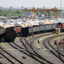 Kiniškų krovinių proveržis: per Lietuvą pervežtas šimtasis sąstatas