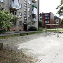 Uostamiesčio gyventojams nerimą kelia apleistos žaidimų aikštelės