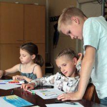 Laikas: jei paskubėsite, vaikus dar spėsite užrašyti į likusius nemokamus užsiėmimus.
