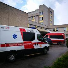 Klaipėdos universitetinėje ligoninėje buvo kilęs gaisras