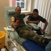 """NATO karys: """"Kraujo donorystė – pareiga"""""""