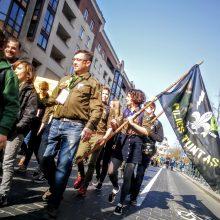 Vilniuje skautai švenčia Jurgines