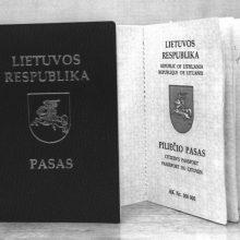 Nustoja galioti žalieji lietuviški pasai