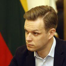 G. Landsbergis: mane stebina prezidentės žodžiai