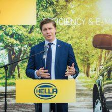 """Kauno rajone Vokietijos """"Hella"""" pradeda statyti gamyklą"""