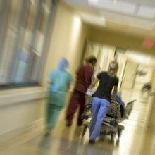 Mažeikių ligoninėje mirė suimtasis