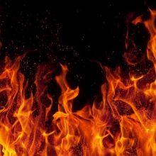 Jonavoje per gaisrą žuvo moteris