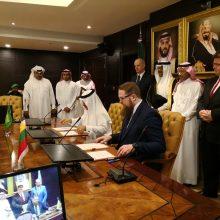 Lietuva ir Saudo Arabija sutarė skatinti dvišalius verslo ryšius