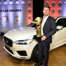 """""""Volvo XC60"""" paskelbtas 2018 metų """"Pasaulio automobiliu"""""""