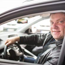 Ž. Savickas atskleidė, kokie trys dalykai automobilyje jam svarbiausi