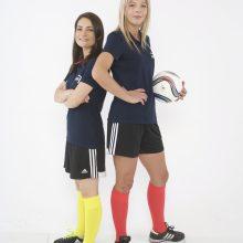 Merginos ruošiasi sulaužyti stereotipus futbole