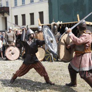 Uostamiestyje žvanga kuršių ir vikingų ginklai