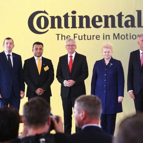 """""""Continental"""" pradeda gamyklos statybas Kauno rajone  © Aliaus Koroliovo nuotr."""