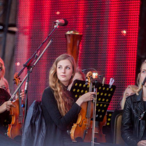 """""""Operetė Kauno pilyje"""" tęsiasi  © Elijaus Kniežausko nuotr."""