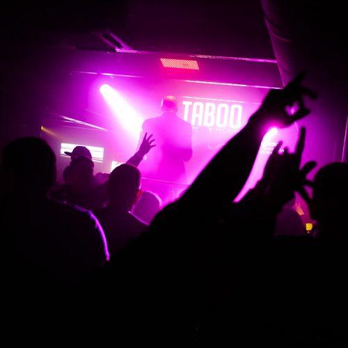 "Legendinė diskoteka ""Taboo"" klube  © I. Jonelytės nuotr."
