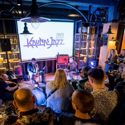 """Kaunas Jazz"" koncertas ""Volfo Engelmano Studijoje""  © Vilmanto Raupelio nuotr."