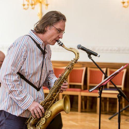 """""""Kaunas Jazz 2018"""" atidarymas  © Vilmanto Raupelio nuotr."""