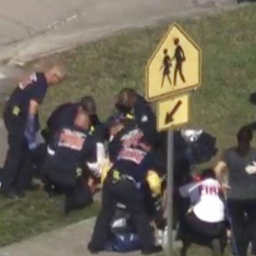 Šaudynės Floridos mokykloje  © Reuters nuotr.