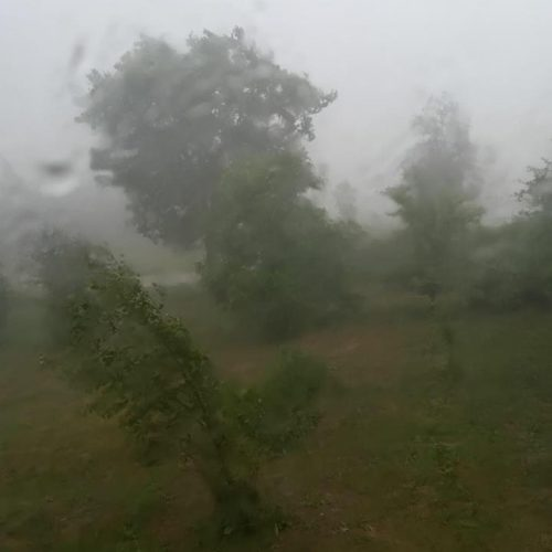 Lietuvą siaubia lietus ir viesulas  ©