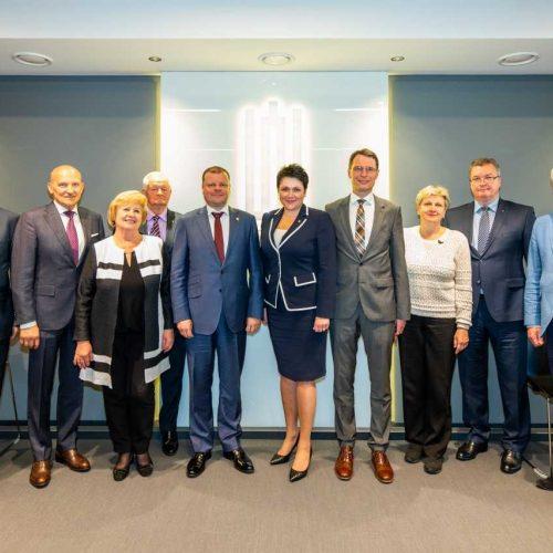 S.Skverneliui – Tarptautinio olimpinio komiteto apdovanojimas  © Vytauto Dranginio nuotr.