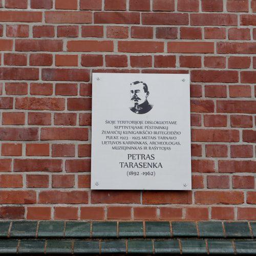 Atidengta Petro Tarasenko atminimo lenta  © Vytauto Petriko nuotr.