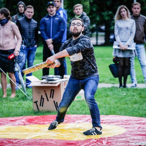 Klaviatūrų mėtymo čempionatas  © Vytauto Petriko nuotr.