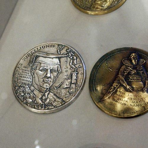Valstybės istorija – kūrėjo medaliuose  © Vytauto Liaudanskio nuotr.
