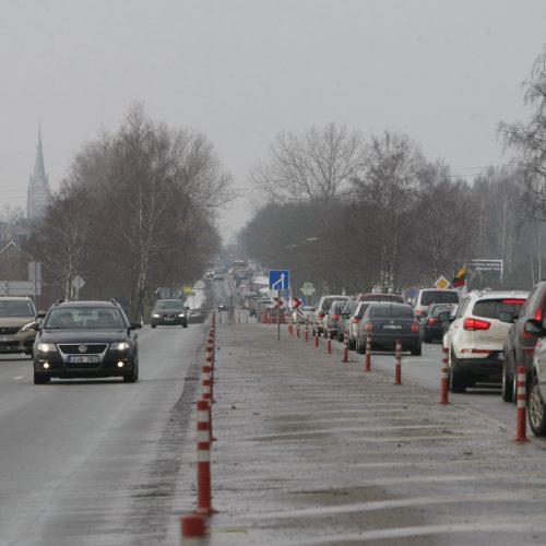 Automobilių eilės į Palangą