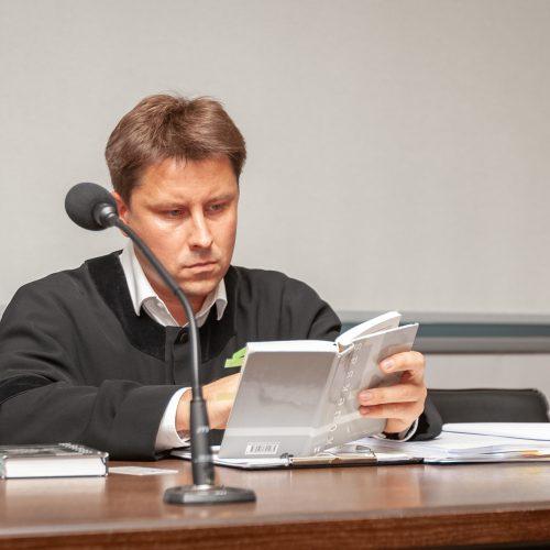 Ievos Strazdauskaitės žudikų teismas  © Eitvydo Kinaičio nuotr.