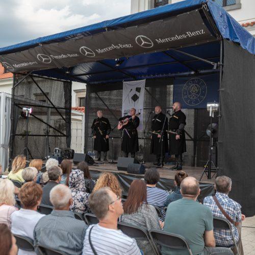 Pažaislio liepų alėjos vakarai | operos solistų kvartetas iš Sakartvelo  © Eitvydo Kinaičio nuotr.
