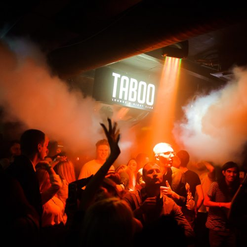 """""""Taboo"""" lankytojai neliūdėjo dėl """"Žalgirio"""" nesėkmės  © I. Jonelytės nuotr."""