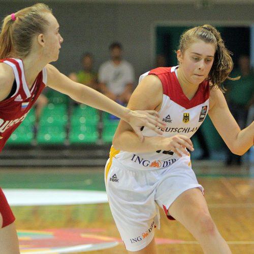 Vokietija – Rusija 43:51. Merginų U16 EČ  © Evaldo Šemioto nuotr.