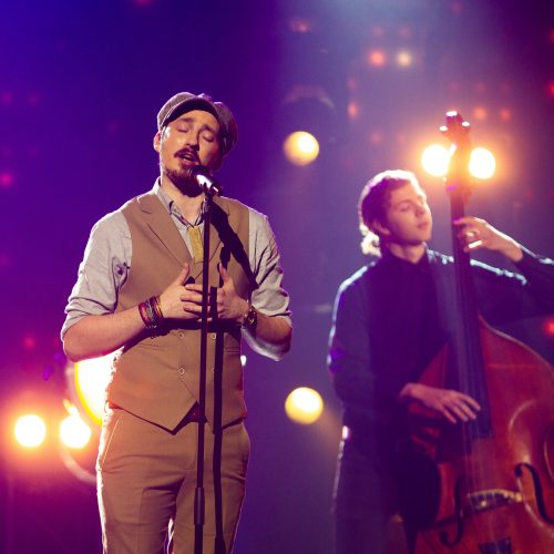 """Pirmasis nacionalinės """"Eurovizijos"""" atrankos pusfinalis  © Irmanto Gelūno/Fotobanko nuotr."""