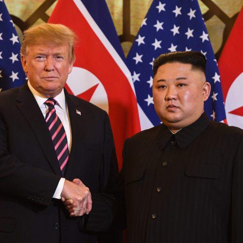 D. Trumpo ir Kim Jong Uno susitikimas Hanojuje