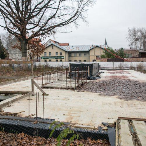 """Kaune paskelbta """"Krepšinio namų"""" statybų pradžia  © Teodoro Biliūno nuotr."""