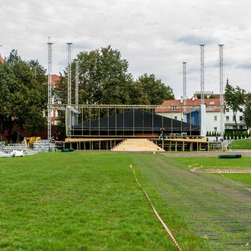 Kaunas ruošiasi popiežiaus atvykimui  © Laimio Steponavičiaus nuotr.
