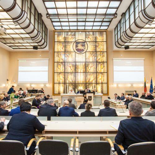 Paskutinis 2015-2019 metų kadencijos tarybos posėdis