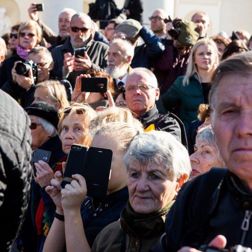 A. Ramanausko-Vanago laidotuvės  © Gretos Skaraitienės / BFL nuotr.