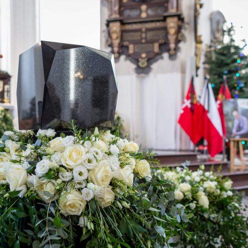 Nužudyto Gdansko mero laidotuvės