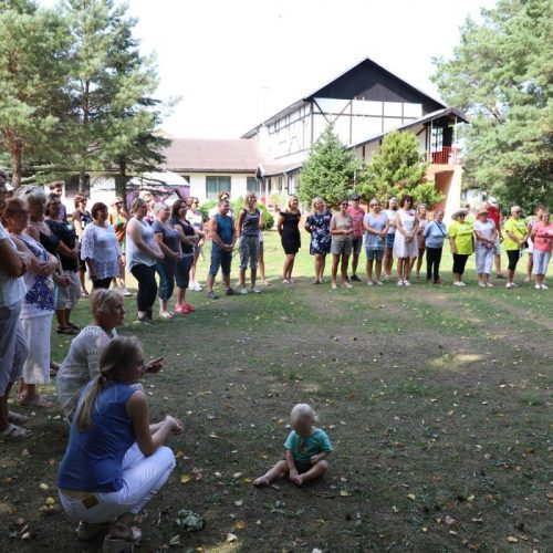 """""""Sveikatingumo stovykla 2018""""  © Kauno rajono savivaldybės nuotr."""