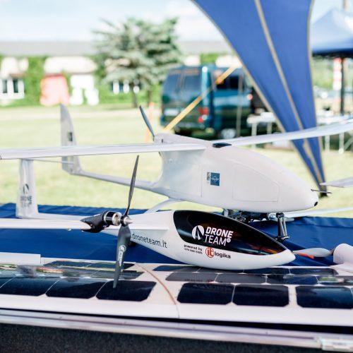 Pirmasis dronų festivalis  © VGTU nuotr.