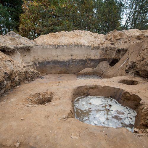 Archeologiniai kasinėjimai Pyplių piliakalnyje  © Vilmanto Raupelio nuotr.