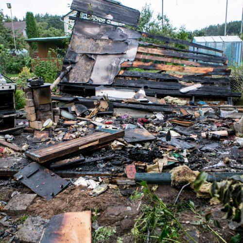 Radikiuose sprogo namas