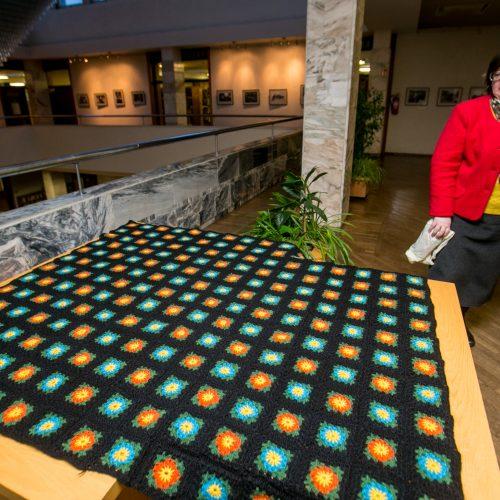 Didžiausia antklodė Europai  © Vilmanto Raupelio nuotr.