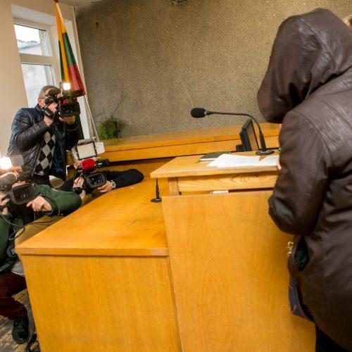 Darželinuko apnuodijimu kaltinamos Jelenos Grabnickienės teismas