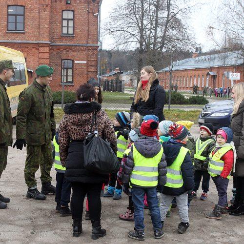 Atvirų durų diena J. Vitkaus batalione  © Evaldo Šemioto nuotr.