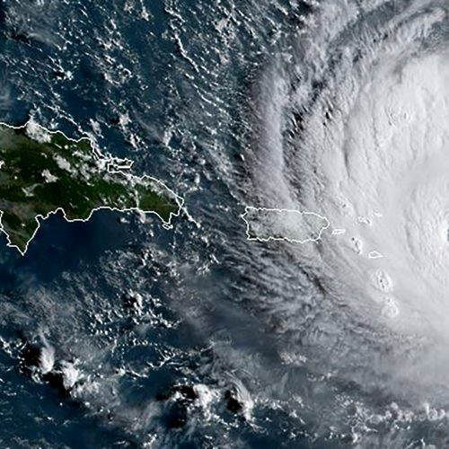 "Uraganas ""Irma"" Karibų regione"